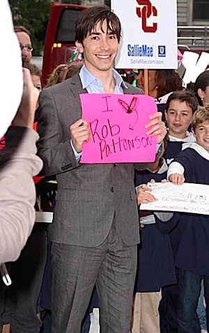 Justin Long Loves Rob