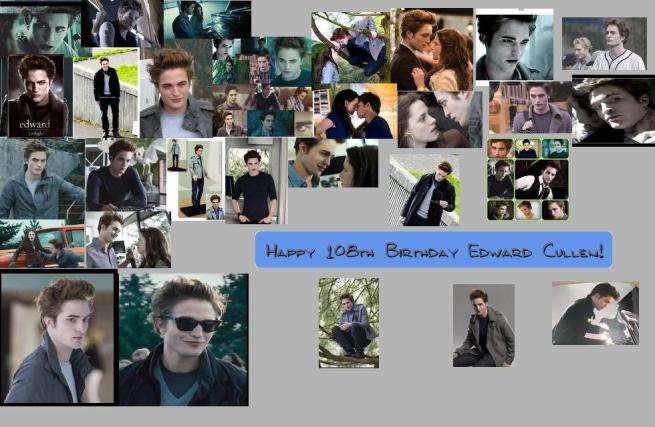 Happy 108th Bday Edward Cullen
