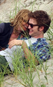 Rob and Emilie on the Beach2