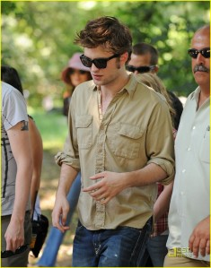 Rob Filming in Central Park