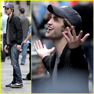 Rob Filming Remember Me