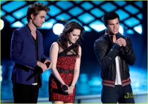 Rob Kristen Taylor MTV Movie Awards