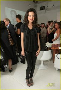 Christian Serratos at Charlotte Russe Launch event
