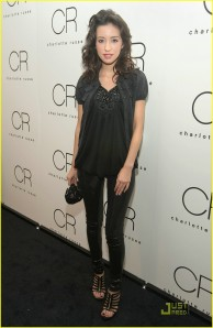 Christian Serratos at Charlotte Russe Launch