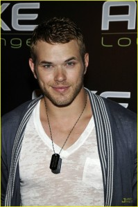 Kellan Lutz at AXE Lounge