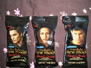 New Moon Chocolates Edward Bella and Jacob