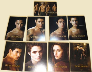 New Moon Trading Cards Promo