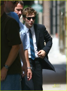 Rob in a suit