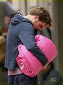 Rob Pink Sleeping Bag3