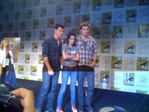 Taylor Kristen and Rob at ComicCon