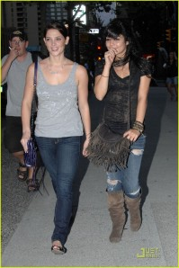 Ashley Greene and Vanessa Hudgens in Vancouver2