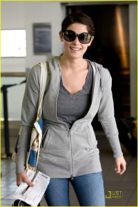 Ashley Greene at LAX