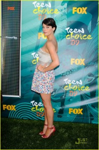 AShley Greene at the 2009 TCA