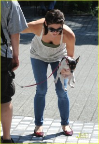 Ashley Greene Holding Marlow in Vancouver