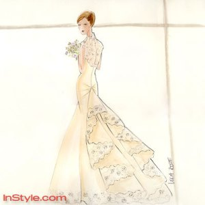 Bella's Wedding Dress Sketch2