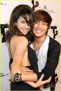 Christian Serratos and Justin Chon Texty Teens