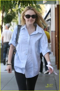 Dakota Fanning Beverly Hills