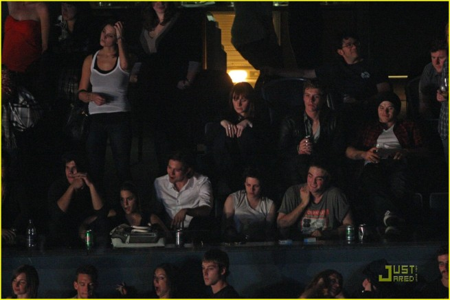 Eclipse Cast at Kings of Leon Concert