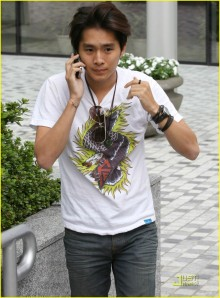 Justin Chon in Vancouver