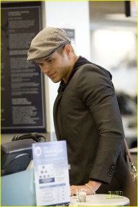 Kellan Lutz at LAX3
