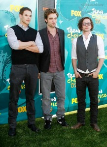 Kellan Rob and Jackson at 2009 Teen Choice Awards