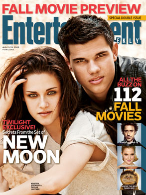 Kristen and Taylor on EW Cover