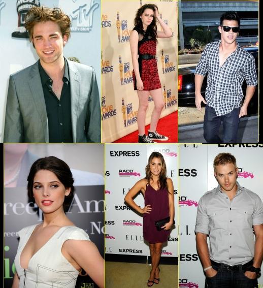 New Moon Cast Attending TCA