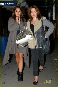 Nikki Reed and Elizabeth Reaser Night Out in Vancouver