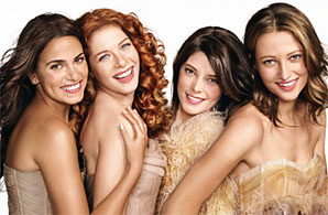 Nikki Reed Rachelle Lefevre Ashley Greene & Nott Seear Glamour Magazine2