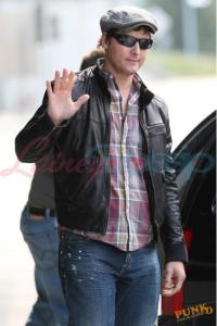 Peter Facinelli in Vancouver