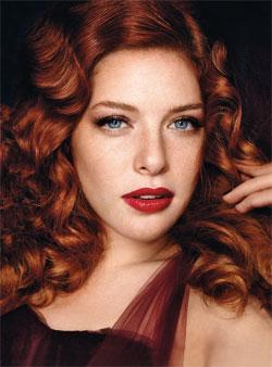 Rachelle Lefevre Glamour Magazine