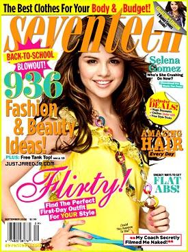 Selena Gomez Seventeen Magazine