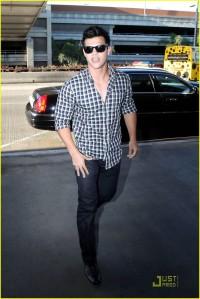 Taylor Lautner at LAX