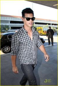 Taylor Lautner at LAX2