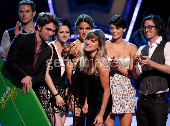 Twilight Cast at Teen Choice Awards 09