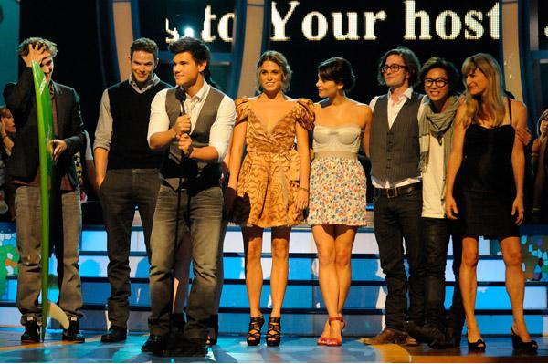 Twilight Cast at the 2009 Teen Choice Awards