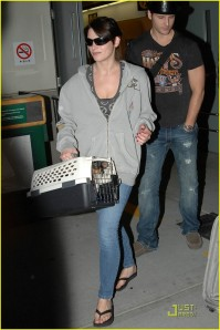 Ashley Greene and Peter Facinelli Back in Vancouver