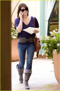 Ashley Greene at Casting Audition