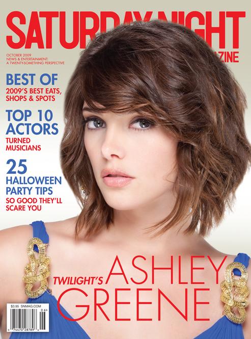 Ashley Greene Saturday Night Live Magazine Cover