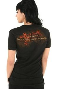 Back of New Moon Shirt at HT