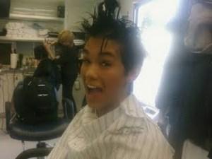 Boo Boo Stewart's Haircut