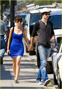 Christian Serratos Shopping with her Boyfriend