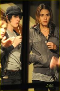 Elizabeth Kristen and Nikki Backstage Bobby Long Concert