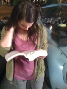 Emma R. Reading New Moon