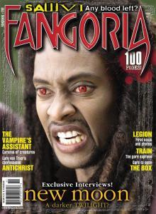Laurent on Fangoria Magazine Cover