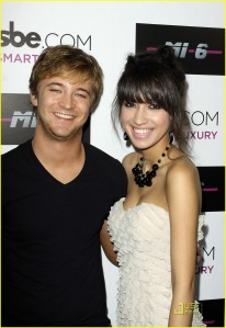 Michael Welch and Christian Serratos at Nightclub2