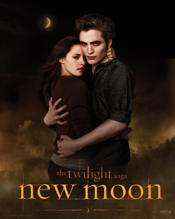 New Bella and Edward New Moon Poster