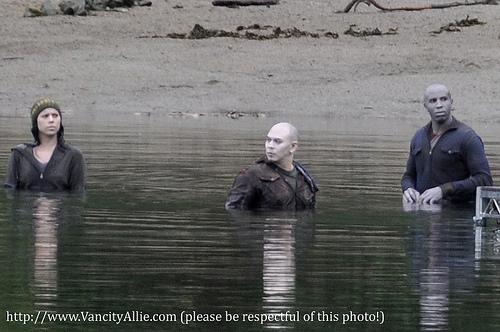 New Born Vampires on Eclipse Set