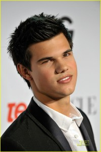 Taylor Lautner at Teen Vogue Party2