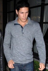 Alex Meraz Out in Vancouver